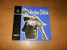 MARLENE DIETRICH  - EP HOLLAND PHILIPS 430721 - ONLY COVER NO RECORD