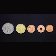 [F-4] Philippines Set 5 Coins, 1+5+10+25 Sentimo+1 Piso, UNC