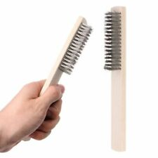Stainless Steel Wire Brush Paint Removal Cleaning Metal Polishing Rust Brushes
