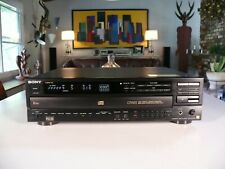 AUDIOPHILE Sony CDP-C701ES CD 5 Disc Changer, ES LINE Player, Made in Japan