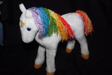 """VINTAGE RAINBOW BRITE STARLITE PONY Plush 12"""" -1983 Hallmark Mattel Horse"""