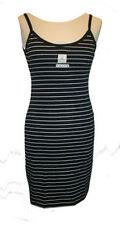 Regular Size 100% Cotton Striped Dresses for Women