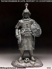 Tatar warrior 12-13 centuries, Tin toy soldier 54 mm, figurine, metal sculpture