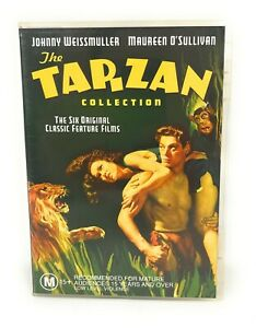 The Tarzan Collection DVD Johnny Weissmuller Region 4 Free Postage