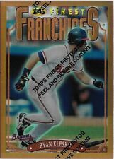 CK3) 1996 Topps Finest RYAN KLESKO Franchises Refractor SP Atlanta Braves