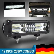 288W LED Arbeitsscheinwerfer Cree Lichtbalken Offroad Lightbar Auto SUV LKW 12V
