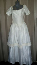 Beading Regular Size Short Sleeve Wedding Dresses