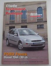 RTA Etude technique & pratique Ford focus Diesel TDdi 90 ch