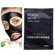 1 Sheet Pack Peel Off Black Mud Face Mask Skin Care Shrink Pores Facial Mask NEW