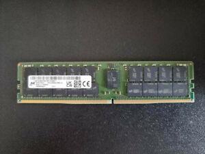 64GB DDR4 3200Mhz 2RX4 Micron Ram Enterprise RDIMM SERVER MTA36ASF8G72PZ-3G2B2.,