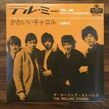 Rolling Stones ‎– Tell Me (You're Coming Back)/ Carol Japanese RE Ltd ED ザ・ローリング