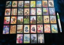 """The Moonshadow Lenormand"" by AlyZen Moonshadow MINI deck fortune telling cards"