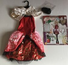 Ever After High Snow White Apple White Child Costume Dress Up Clothes MED NEW