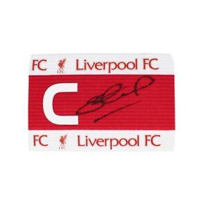 Steven Gerrard Signed Captains Armband - Liverpool Autograph
