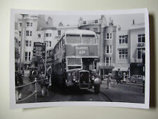 ENG1903 - 1960s BRIGHTON HOVE & DISTRICT OMNIBUS Co - BUS No475 PHOTO