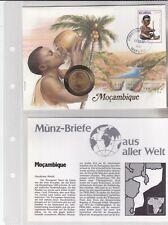 Numisbriefe aus aller Welt - Mocambique - und Infokarte