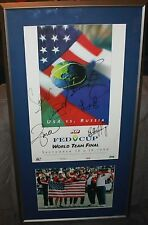 Signed Tennis 1999 Fed Cup Serena Venus Williams Davenport Seles B.J. King Jsa