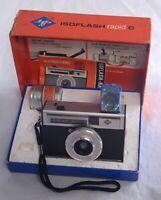 AGFA ISOFLASH rapid C Vintage German Film Camera with Original Box