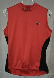 Pearl Izumi Sleeveless Jersey Red & Black Women's Large Used For USA Charity!!!