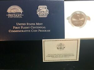 2003 P First Flight Centennial Half Dollar US Commemorative CN-Clad Unc OGP