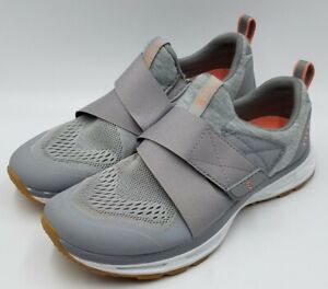 TIEM Cycling Spin Shoes Slipstream Womens SPD Gray Size 7.5