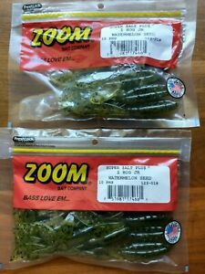 Lot of Two Bags of Zoom Z Hog Jr. Watermelon Seed