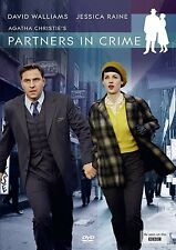 PARTNERS IN CRIME di Agatha Christie Mini Serie TV 2DVD in Inglese NEW .cp
