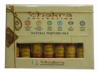 Chakra Natural Perfume Oil Gift Set Natural Perfume 7 Bottel 100% Pure Natural
