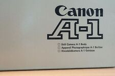 Canon A-1 boxed + strap and 4SR44 battery