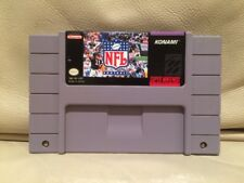 NFL Football - Nintendo Super NES American SNES NTSC Game - Tested Cart Only