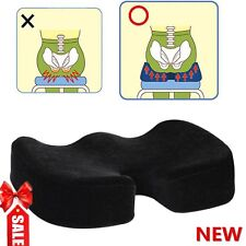 Coccyx Orthopedic Memory Foam Seat Cushion Offic Chair Car Seat Pain Relief  VP
