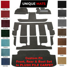 Fits Honda Odyssey Luxury 2014 - 2020 7 Seater Car Floor Mats 8pc Kit incl boot