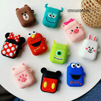3D Cartoon Disney For Apple AirPods1 Earphone Cases Cute AirPods2 Protector Case