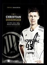 Christian Dissinger Autogrammkarte THW Kiel 2015-16 Original Handball + A165449
