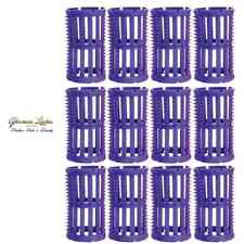 Hair Setting Rollers & Plastic Pins For Curls Lilac 36mm Pack Of 12 Hair Tools