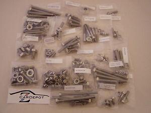 Datsun 240Z 260Z 280Z ZX L24 L26 L28 Stainless Steel Engine Bolt Kit 006