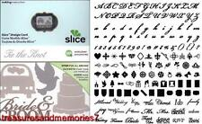SLICE Design Card TIE THE KNOT 36492 MIRRORING SHADOWING Making Memories