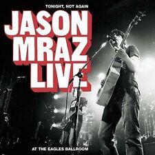 Tonight, Not Again: Jason Mraz Live at the Eagles Ballroom(CD&DVD-2004) SEALED