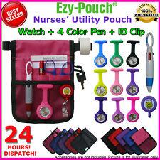 High Quality Nurse Vet Pouch Pocket Bag Silicon Fob Watch Pick Bonus Pack