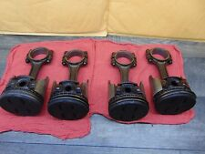 Connecting Rods and Pistons, OMC  120hp GM 153 1964-1972