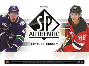 2019-20 SP Authentic Updates, All-Stars, Authentic Moments & Winners, Essentials