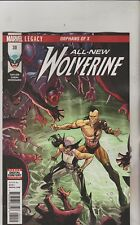 MARVEL COMICS ALL NEW WOLVERINE #30 MARCH 2018 1ST PRINT NM
