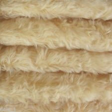 """1/6 yd 785S/C Buttercup Intercal 3/4"""" Med. Density Curly German Mohair Fabric"""