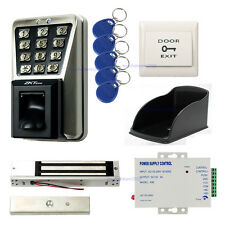 Outdoor Waterproof ZK Bio Fingerprint Time Attendance Access Control Systems Mag