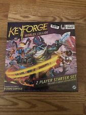 Keyforge World's Collide Factory Sealed 2 Player Starter Set NIB
