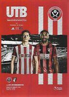 Sheffield United v Bournemouth 9th February 2020 Match Programme 2019/2020
