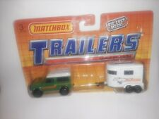 "New ListingMatchbox Trailers"" Landrover and Horse Box "" 1992 Diecast"