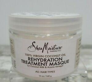 Shea Moisture - 100 Virgin Coconut Oil Rehydration Treatment Masque - 12oz