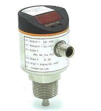 IFM EFECTOR LR3300 ELECTRONIC LEVEL SENSOR LR0000B-BN34AMPKG/US