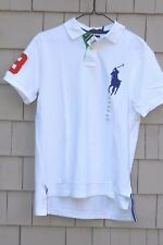 Polo Ralph Lauren Men's Big Pony Embroidered Polo/Rugby Shirt Size XXL